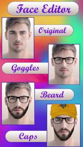 اسکرین شات برنامه Face Changer Photo Face App: Make Me Old 1