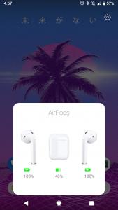 اسکرین شات برنامه AirDroid   An AirPod Battery App 1