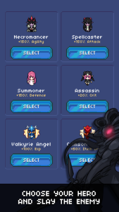 اسکرین شات بازی Hero's Quest: Automatic Roguelite RPG 5