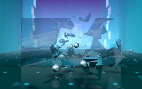 اسکرین شات بازی Smash Hit 1