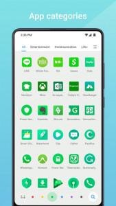 اسکرین شات برنامه Mint Launcher 4