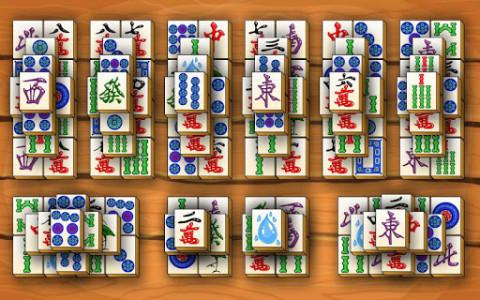 اسکرین شات بازی Mahjong Titans 5