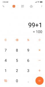 اسکرین شات برنامه Mi Calculator 1