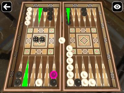 اسکرین شات بازی Original Backgammon 6