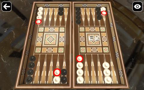 اسکرین شات بازی Original Backgammon 1