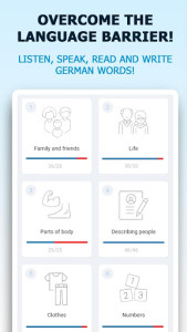 اسکرین شات برنامه German for Beginners. Learn German language free 1