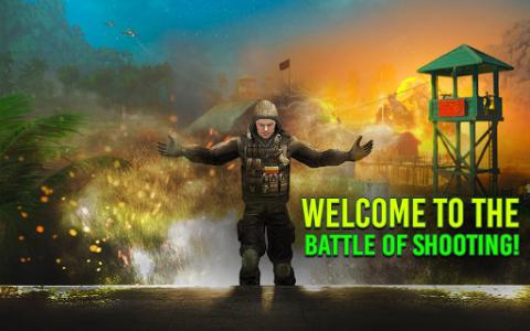 اسکرین شات برنامه Modern FPS Jungle Combat Strike: FPS Shooting Game 1