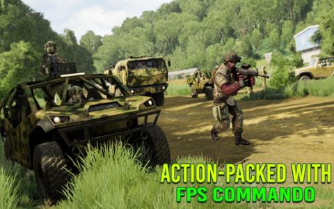 اسکرین شات برنامه Modern FPS Jungle Combat Strike: FPS Shooting Game 2