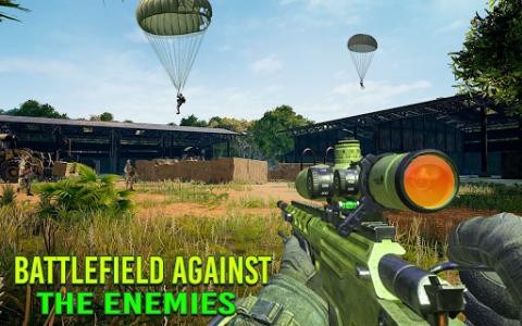 اسکرین شات برنامه Modern FPS Jungle Combat Strike: FPS Shooting Game 4