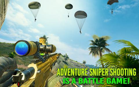 اسکرین شات برنامه Modern FPS Jungle Combat Strike: FPS Shooting Game 3