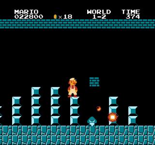 اسکرین شات بازی بازی قارچ خور قدیمی اصلی سوپر ماریو 5