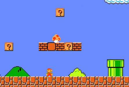اسکرین شات بازی بازی قارچ خور قدیمی اصلی سوپر ماریو 2
