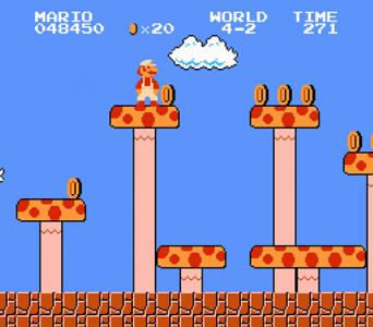 اسکرین شات بازی بازی قارچ خور قدیمی اصلی سوپر ماریو 3