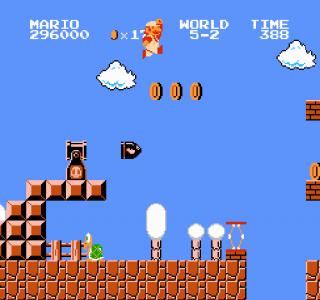 اسکرین شات بازی بازی قارچ خور قدیمی اصلی سوپر ماریو 6