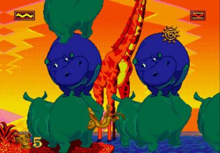 اسکرین شات بازی بازی حیوانات وحشی جنگلی شیر شاه 3