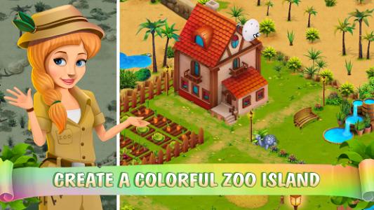 اسکرین شات بازی Zoo Island: Exotic Garden 6