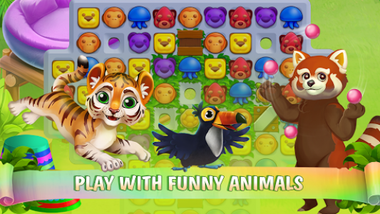 اسکرین شات بازی Zoo Island: Exotic Garden 1