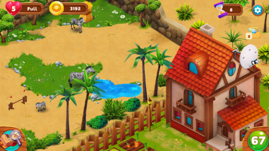 اسکرین شات بازی Zoo Island: Exotic Garden 8