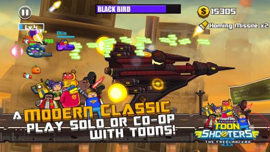 اسکرین شات بازی Toon Shooters 2: Arcade Side-Scroller Shooter 1