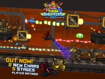 اسکرین شات بازی Toon Shooters 2: Arcade Side-Scroller Shooter 7