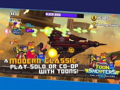 اسکرین شات بازی Toon Shooters 2: Arcade Side-Scroller Shooter 6