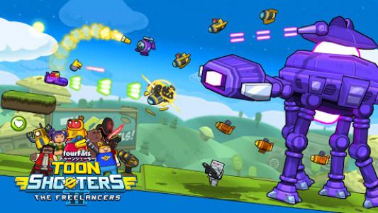 اسکرین شات بازی Toon Shooters 2: Arcade Side-Scroller Shooter 5