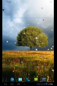 اسکرین شات برنامه Awesome-Land 2 live wallpaper : Plant a Tree !! 4