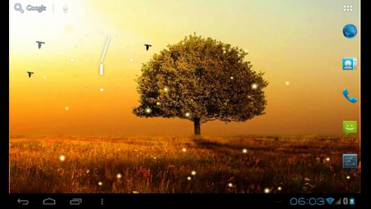اسکرین شات برنامه Awesome-Land 2 live wallpaper : Plant a Tree !! 6