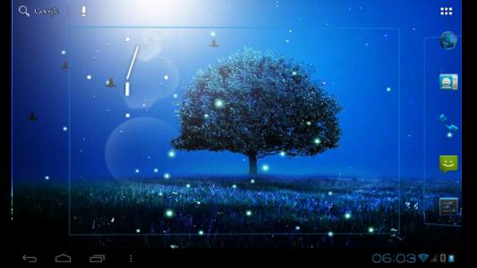 اسکرین شات برنامه Awesome-Land 2 live wallpaper : Plant a Tree !! 8