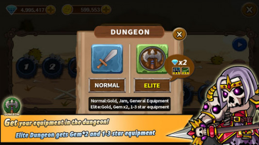 اسکرین شات بازی BATTLE HEROES 3