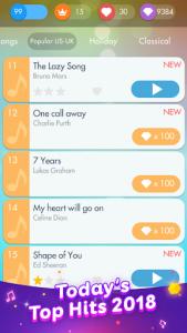 اسکرین شات بازی Piano Games - Free Music Piano Challenge 2020 6