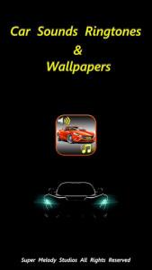 اسکرین شات برنامه Car Sounds Ringtones & Wallpapers 1
