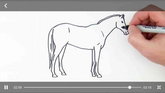 اسکرین شات برنامه نقاشی کودکانه + فیلم آموزش نقاشی 1