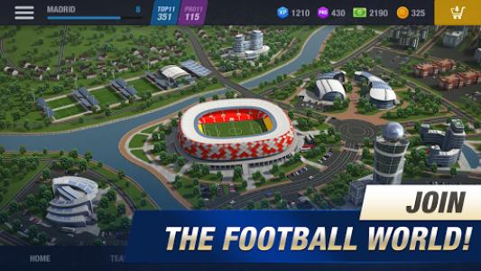 اسکرین شات بازی 11x11: Soccer Club Manager 1