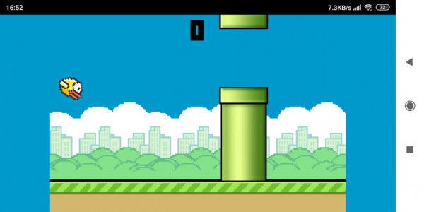 اسکرین شات بازی بازی پرنده ناشیانه 3
