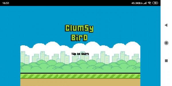 اسکرین شات بازی بازی پرنده ناشیانه 2