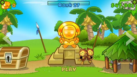 اسکرین شات بازی Bloons TD 5 1