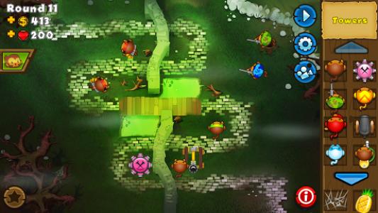 اسکرین شات بازی Bloons TD 5 3