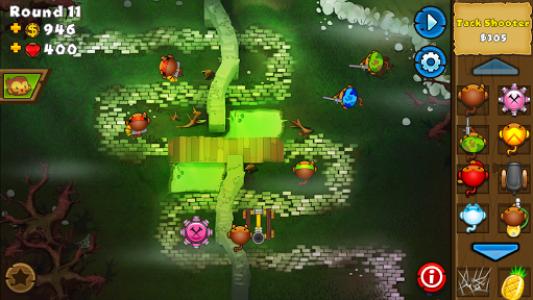 اسکرین شات بازی Bloons TD 5 8