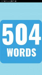اسکرین شات برنامه 504 لغت ضروری انگلیسی + ترجمه 5