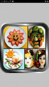 اسکرین شات برنامه سفره آرایی ، تزیین غذا و میوه 4