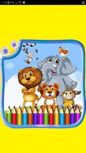 اسکرین شات برنامه اموزش نقاشی کودکان گام به گام 4