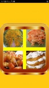 اسکرین شات برنامه آموزش انواع غذا با سیب زمینی 4