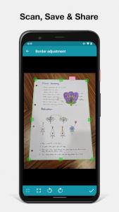 اسکرین شات برنامه Notebloc Scanner App - Scan, save & share as PDF 2