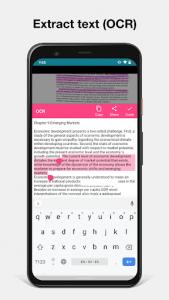 اسکرین شات برنامه Notebloc Scanner App - Scan, save & share as PDF 4