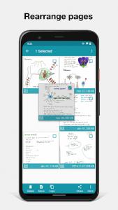 اسکرین شات برنامه Notebloc Scanner App - Scan, save & share as PDF 8