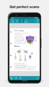 اسکرین شات برنامه Notebloc Scanner App - Scan, save & share as PDF 3