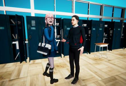 اسکرین شات بازی Bad Guys Fight at School 3