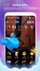 اسکرین شات برنامه OyeTalk - Free Voice Chat Rooms 6