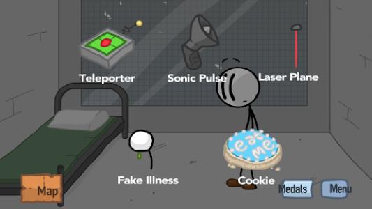 اسکرین شات بازی Fleeing the Complex 1